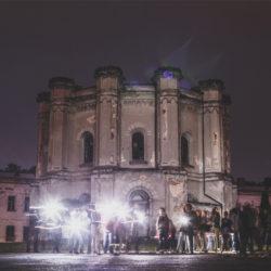odkryj Twierdzę Modlin nocą